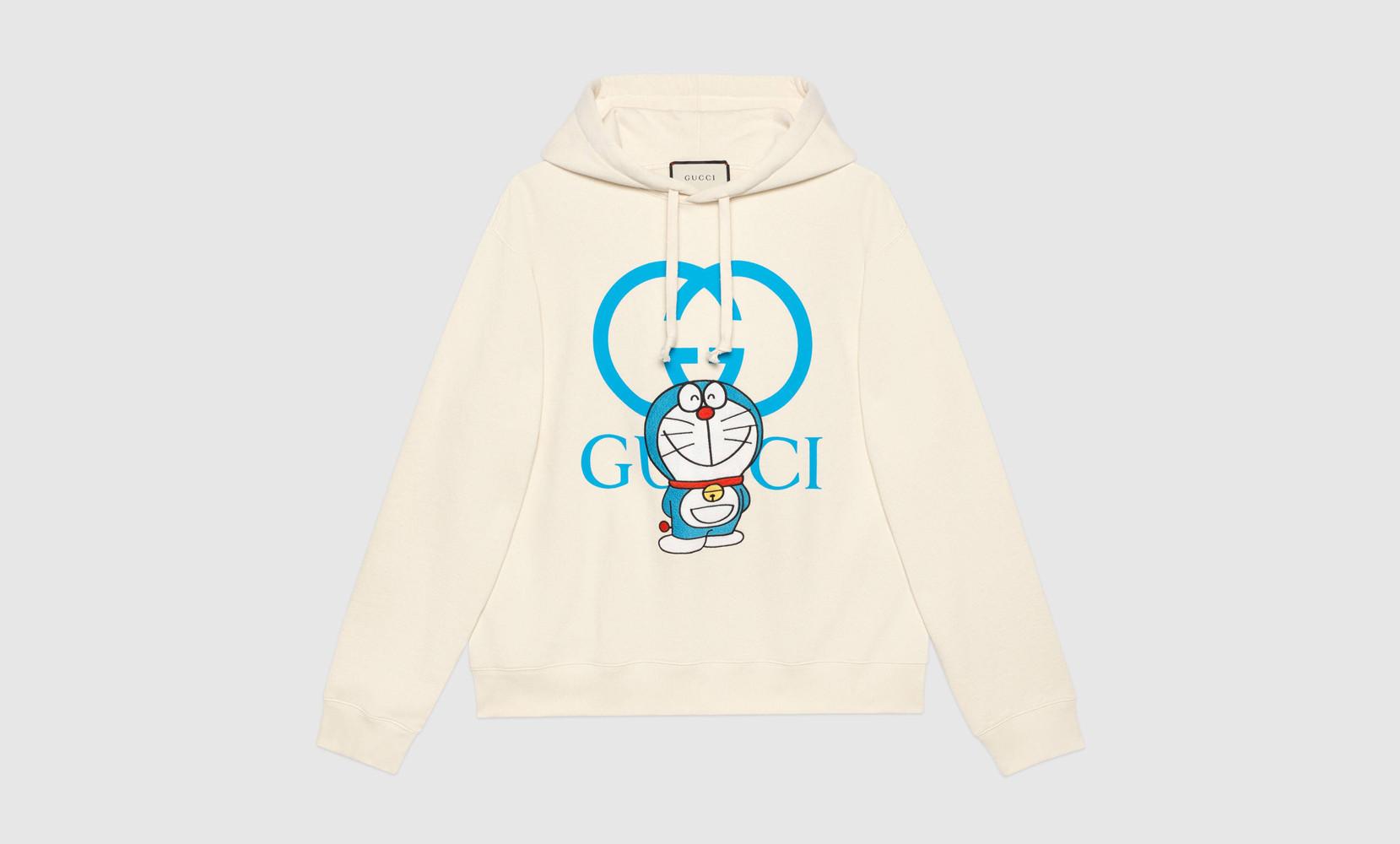 Gucci Doraemon hoodie