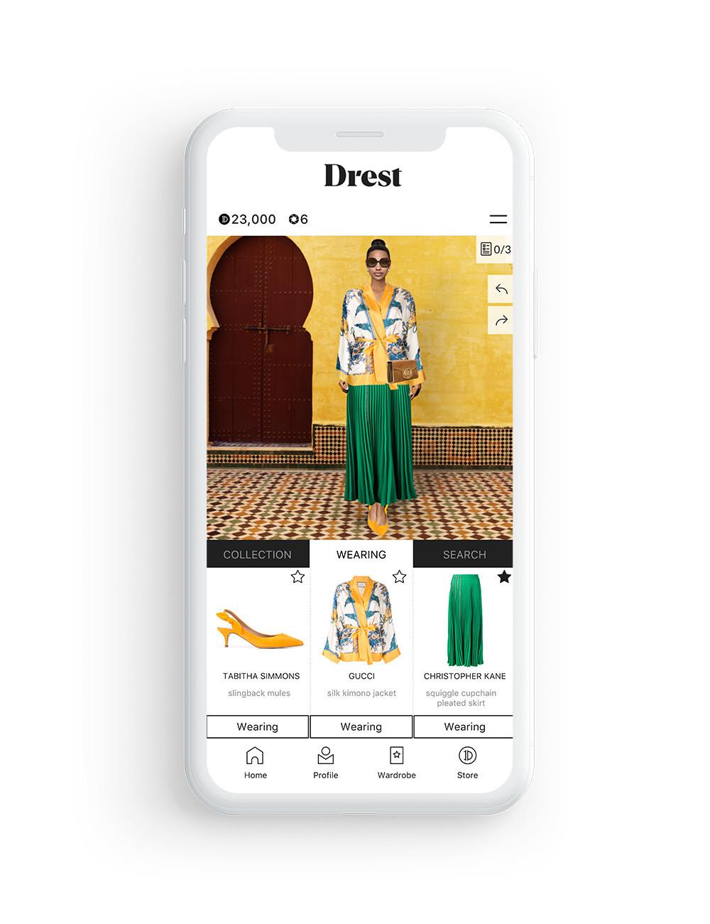 Gucci-Drest-App