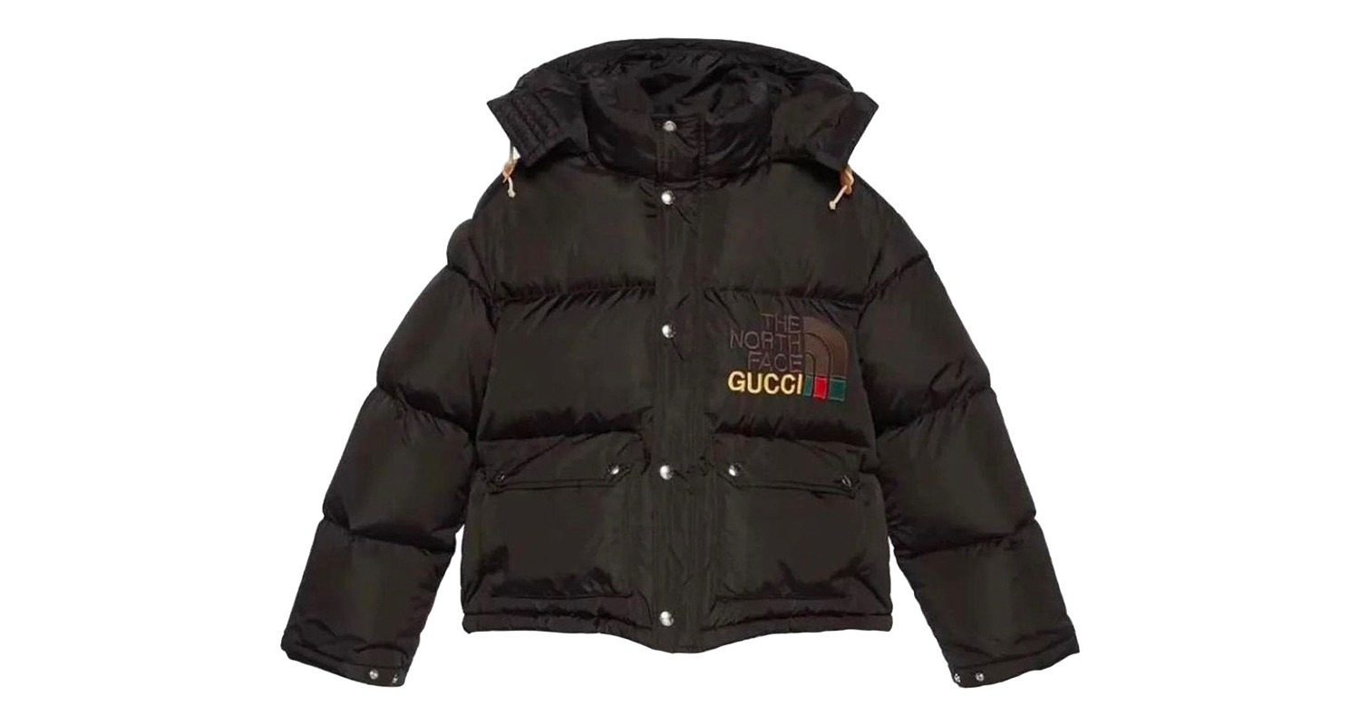 "Gucci x The North Face ""Black Down Jacket"""