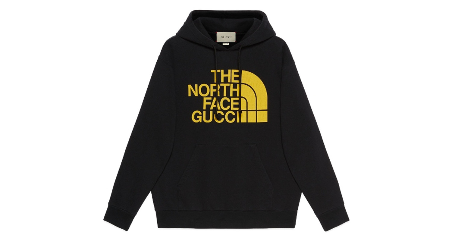 "Gucci x The North Face ""Black Hoodie"""