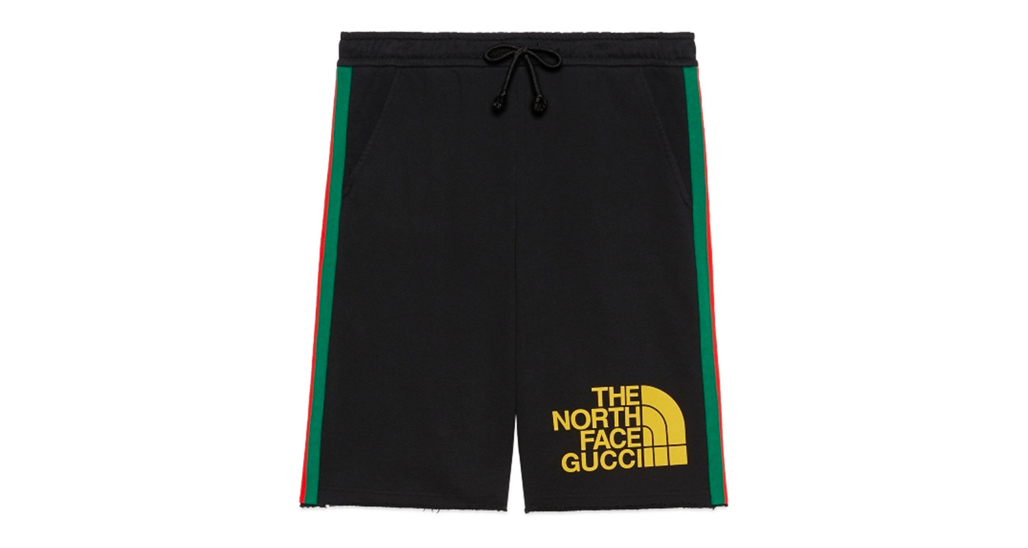 "Gucci x The North Face ""Black Shorts"""