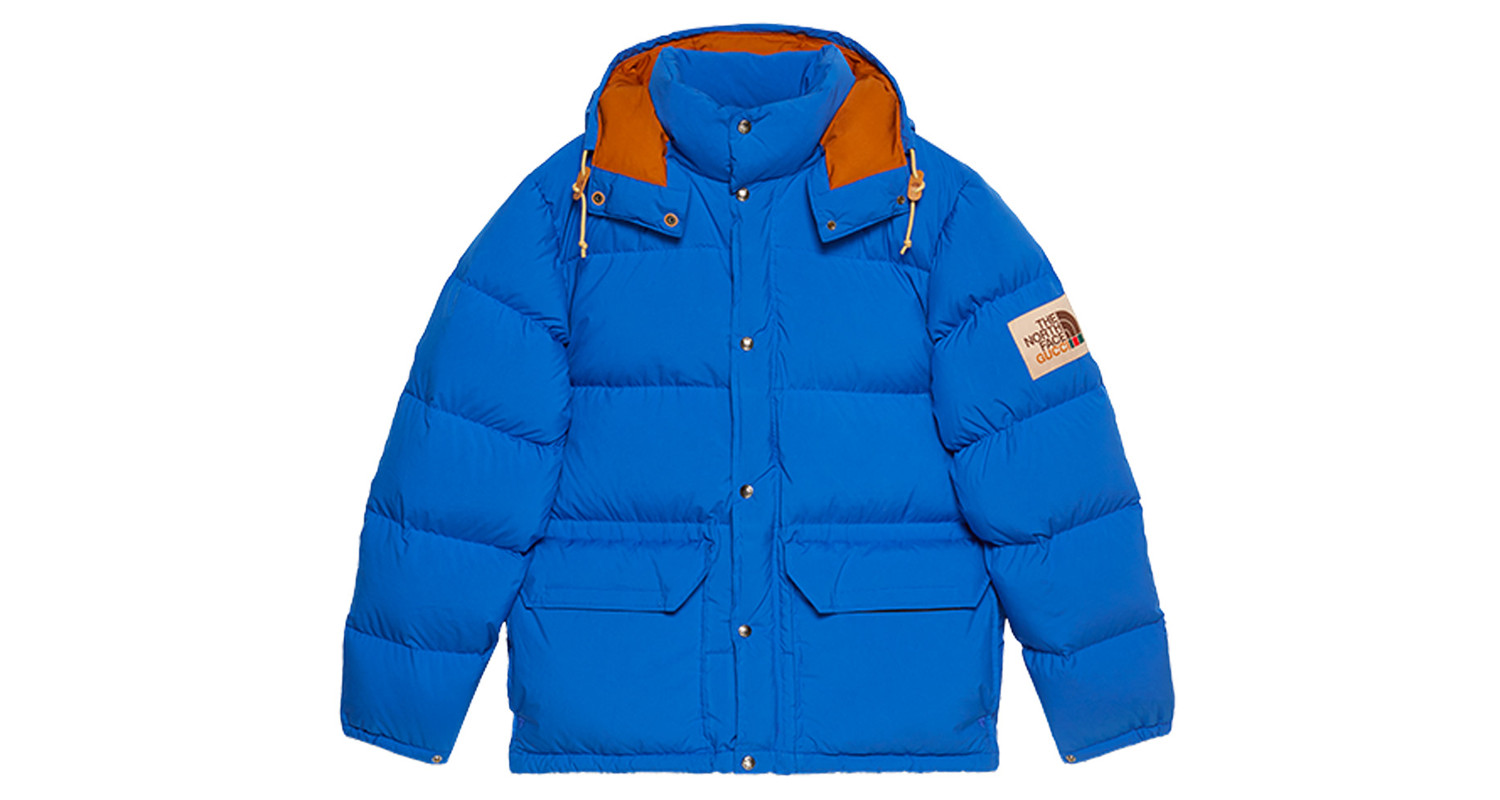 "Gucci x The North Face ""Blue Down Jacket"""