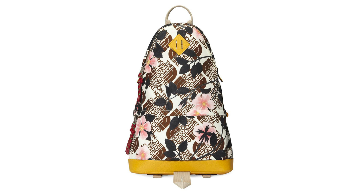 "Gucci x The North Face ""Floral Backpack"""