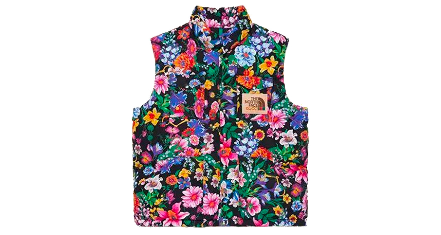 "Gucci x The North Face ""Floral Vest"""