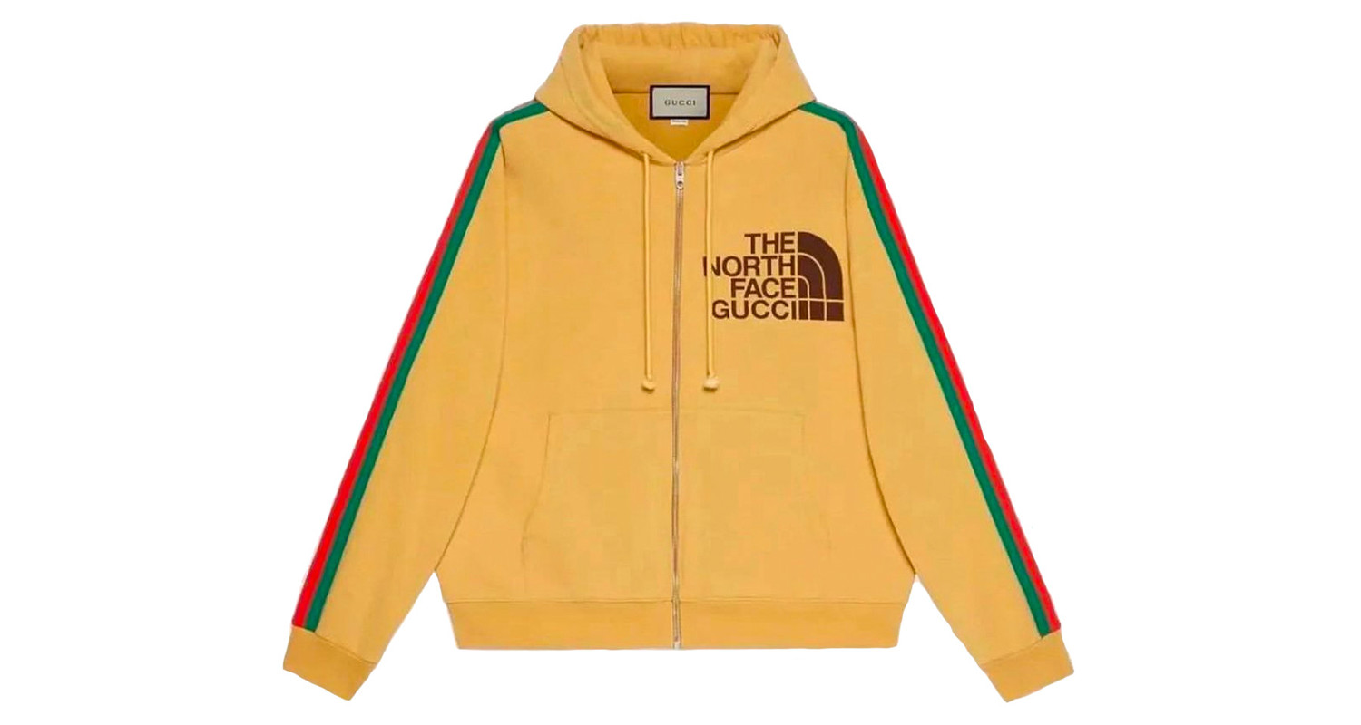 "Gucci x The North Face ""Mustard Hoodie"""
