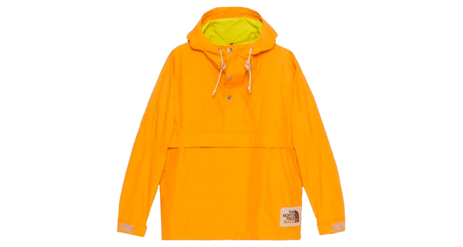 "Gucci x The North Face ""Orange Anorak"""