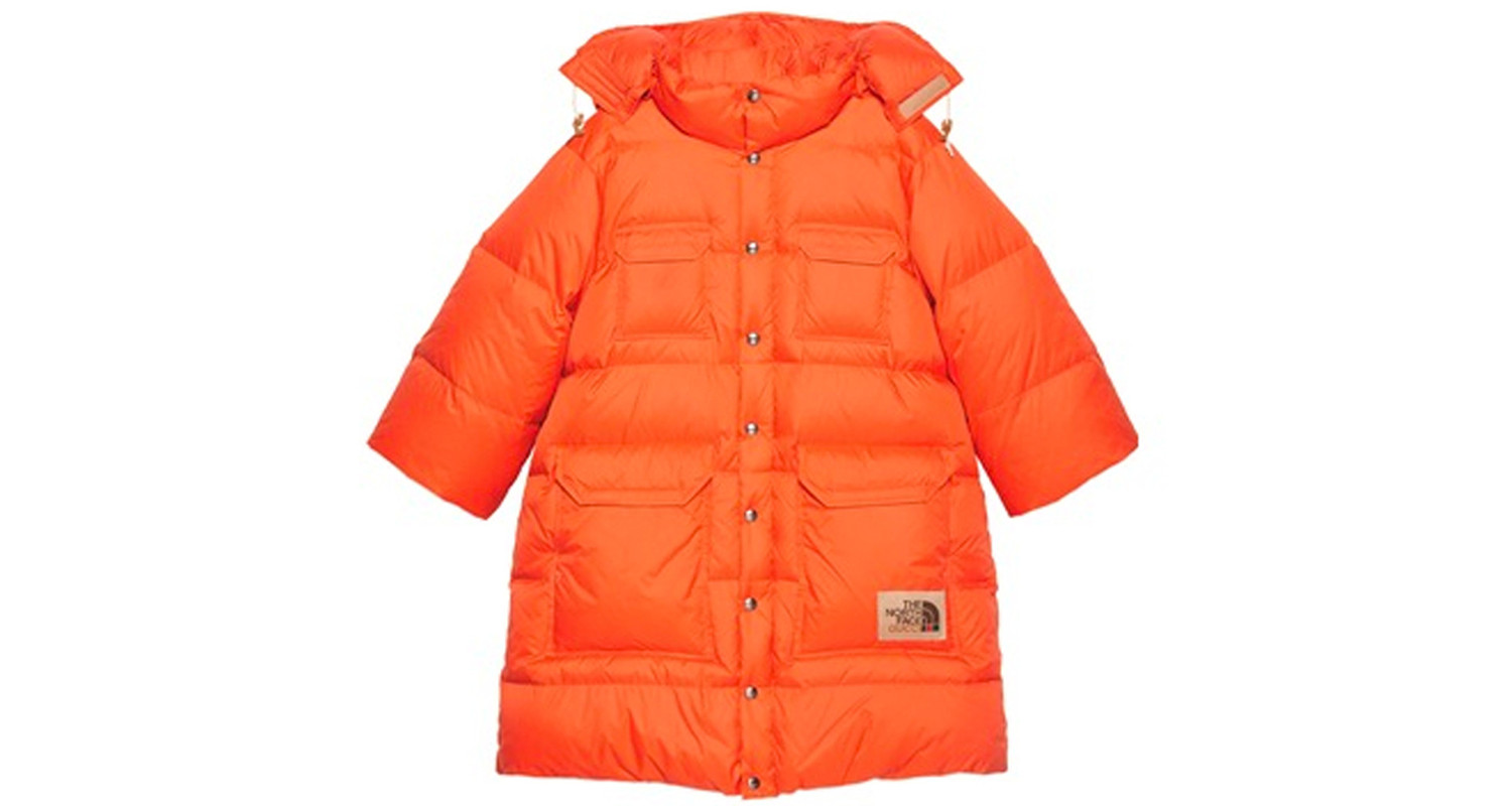 "Gucci x The North Face ""Orange Coat"""