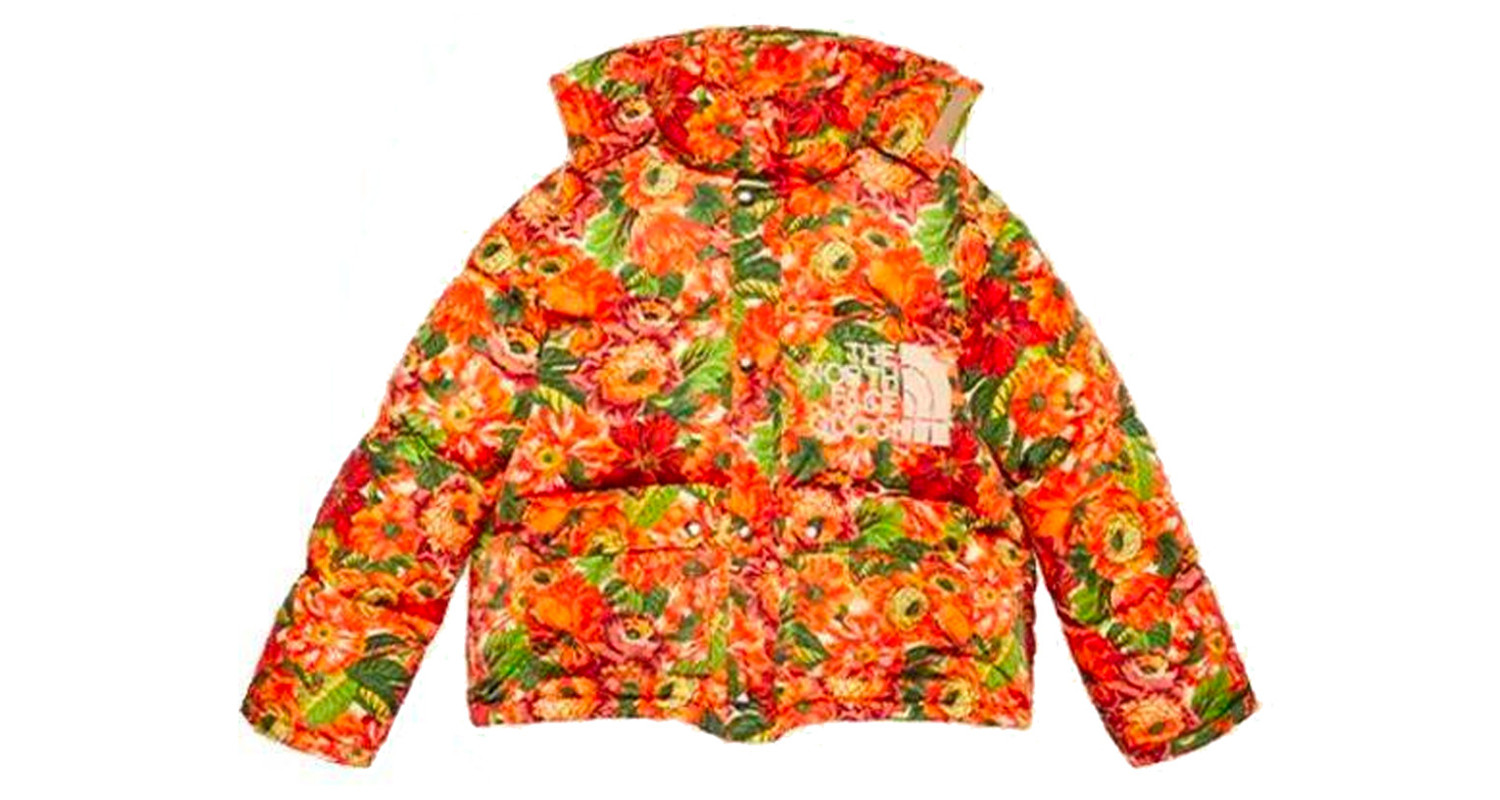 "Gucci x The North Face ""Orange Floral Jacket"""
