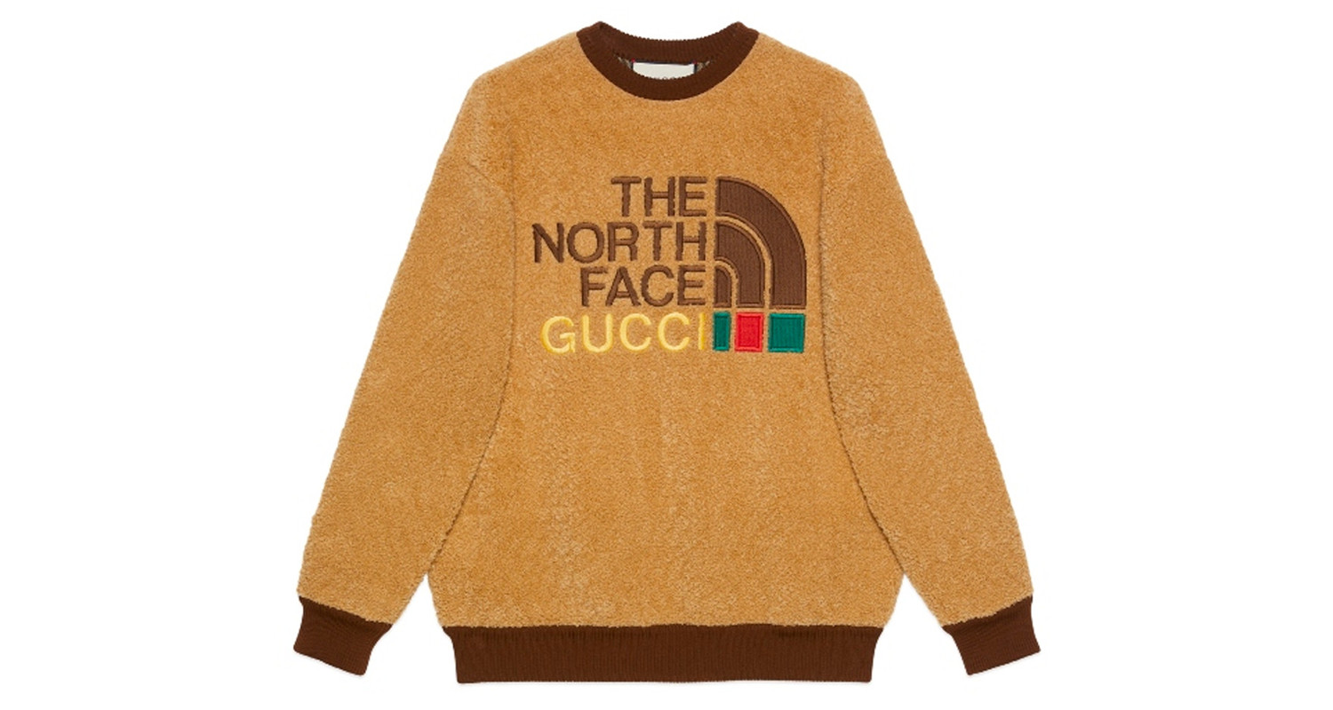 "Gucci x The North Face ""Shearling Sweater"""