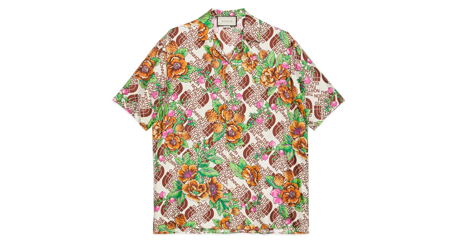 "Gucci x The North Face ""Silk Shirt"""