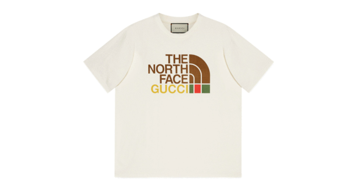 "Gucci x The North Face ""T shirt"""