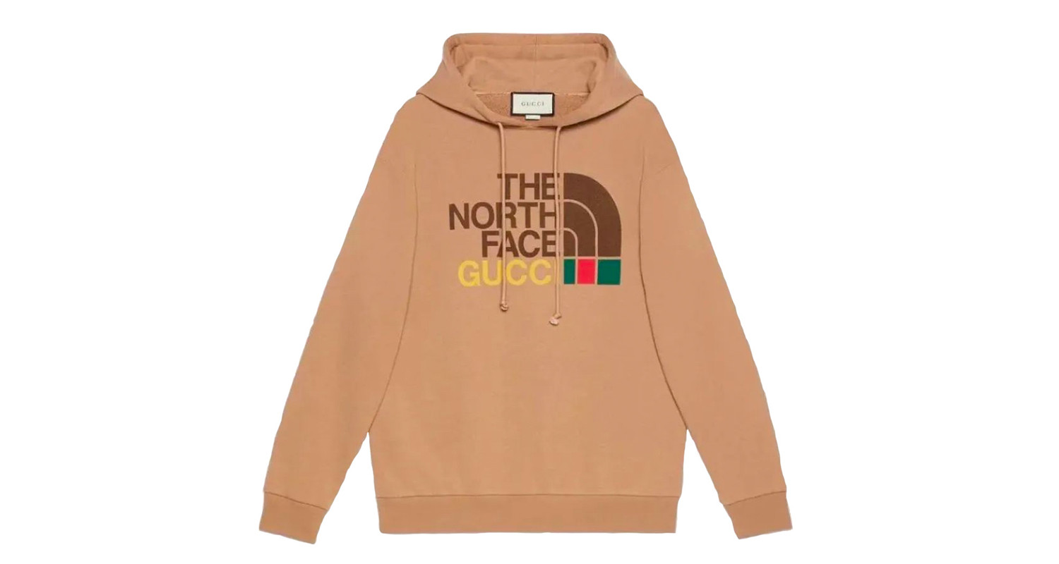 "Gucci x The North Face ""Tan Hoodie"""