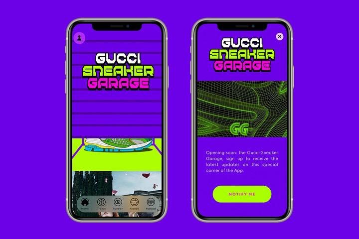 Gucci app Gucci Garage sneakers generator
