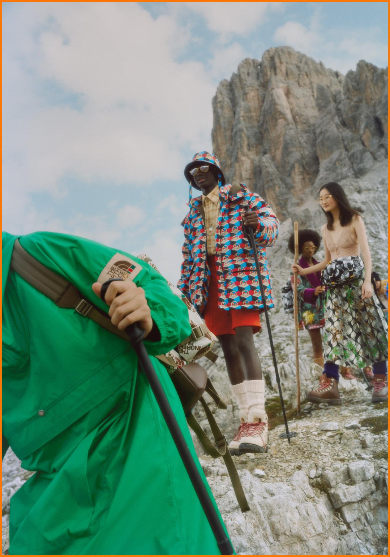 Gucci x The North Face Collaboration