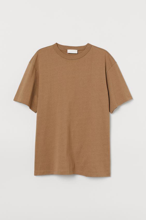 T-shirt H&M Blank Staples
