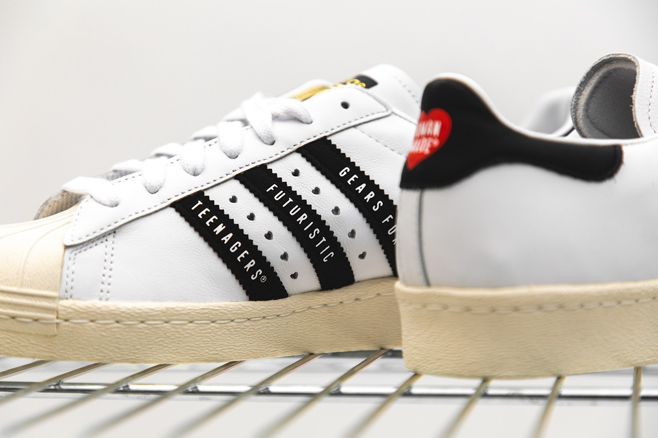 HUMAN MADE x adidas Originals Superstar 80