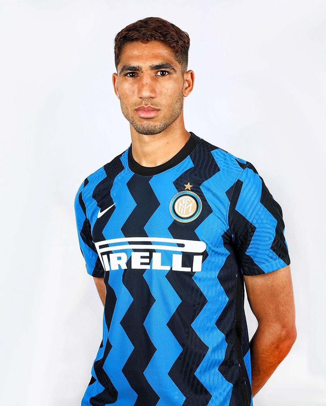 Hakimi Inter maglia nuova stagione 2021 2021