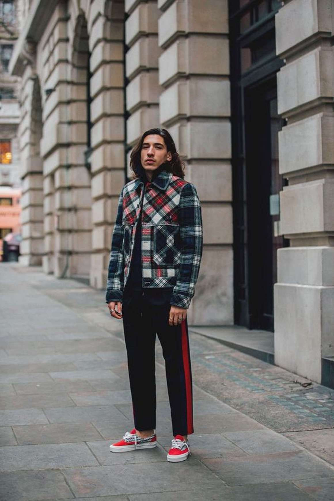 Héctor Bellerín Louis fashion week outfit