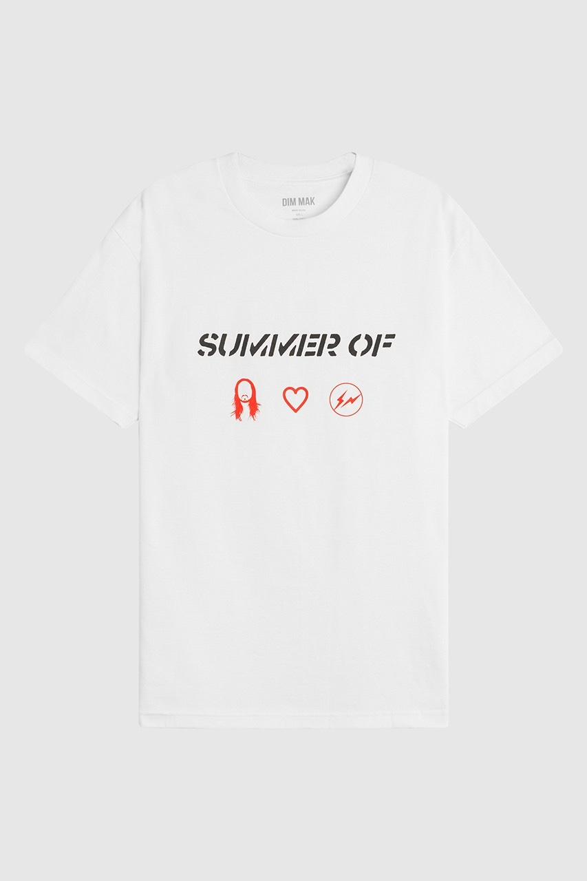 Hiroshi Fujiwara x Steve Aoki T-shirt bianca