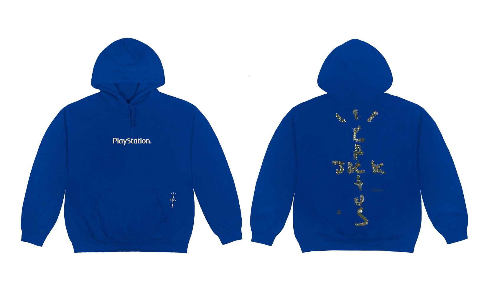 Hoodie Travis Scott x Playstation