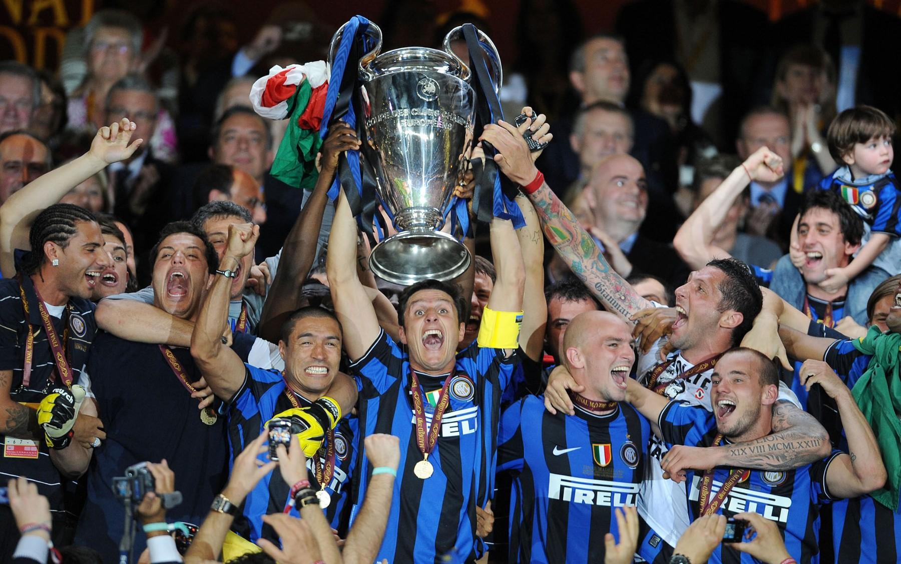 Inter Champions League 2010 premiazione