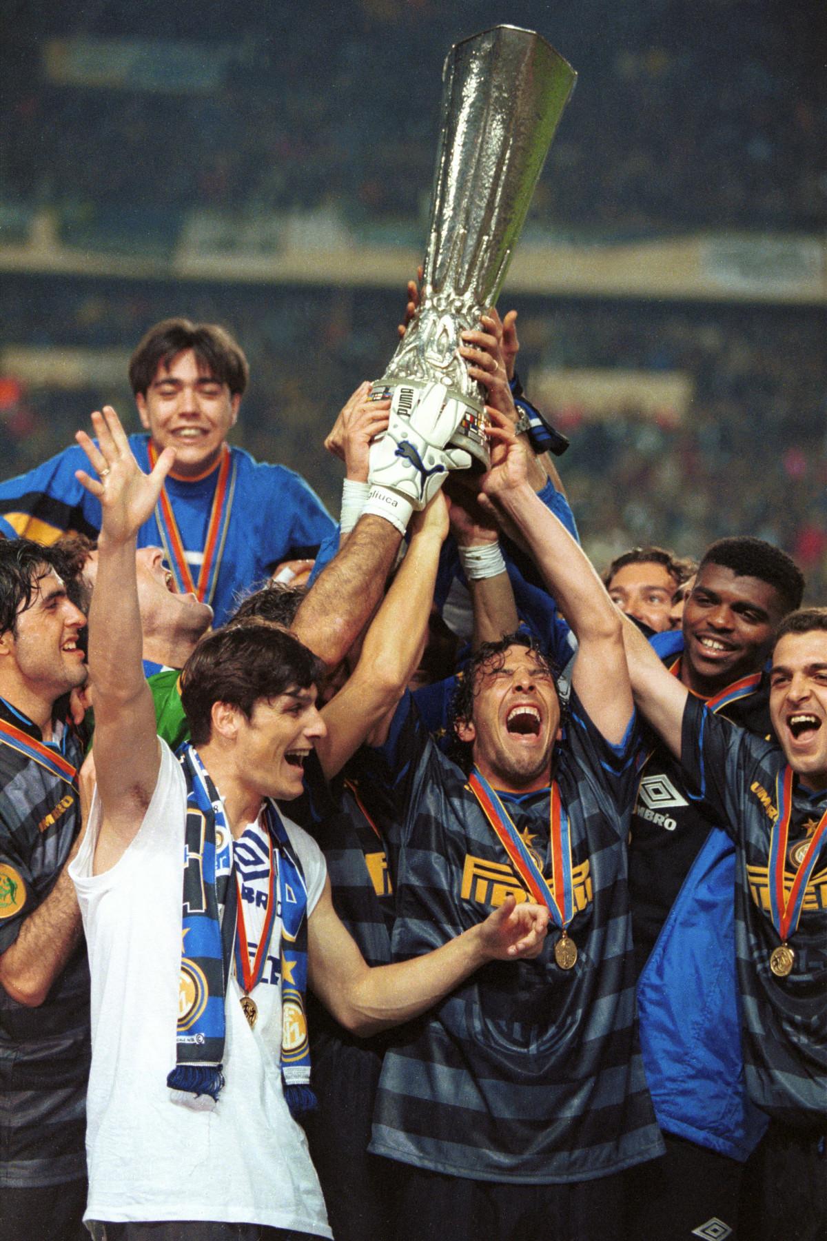 Inter Coppa UEFA 1998 premiazione