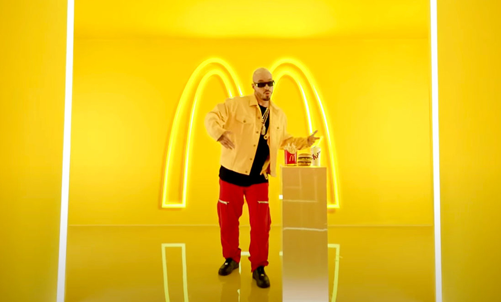 J Balvin x McDonald's
