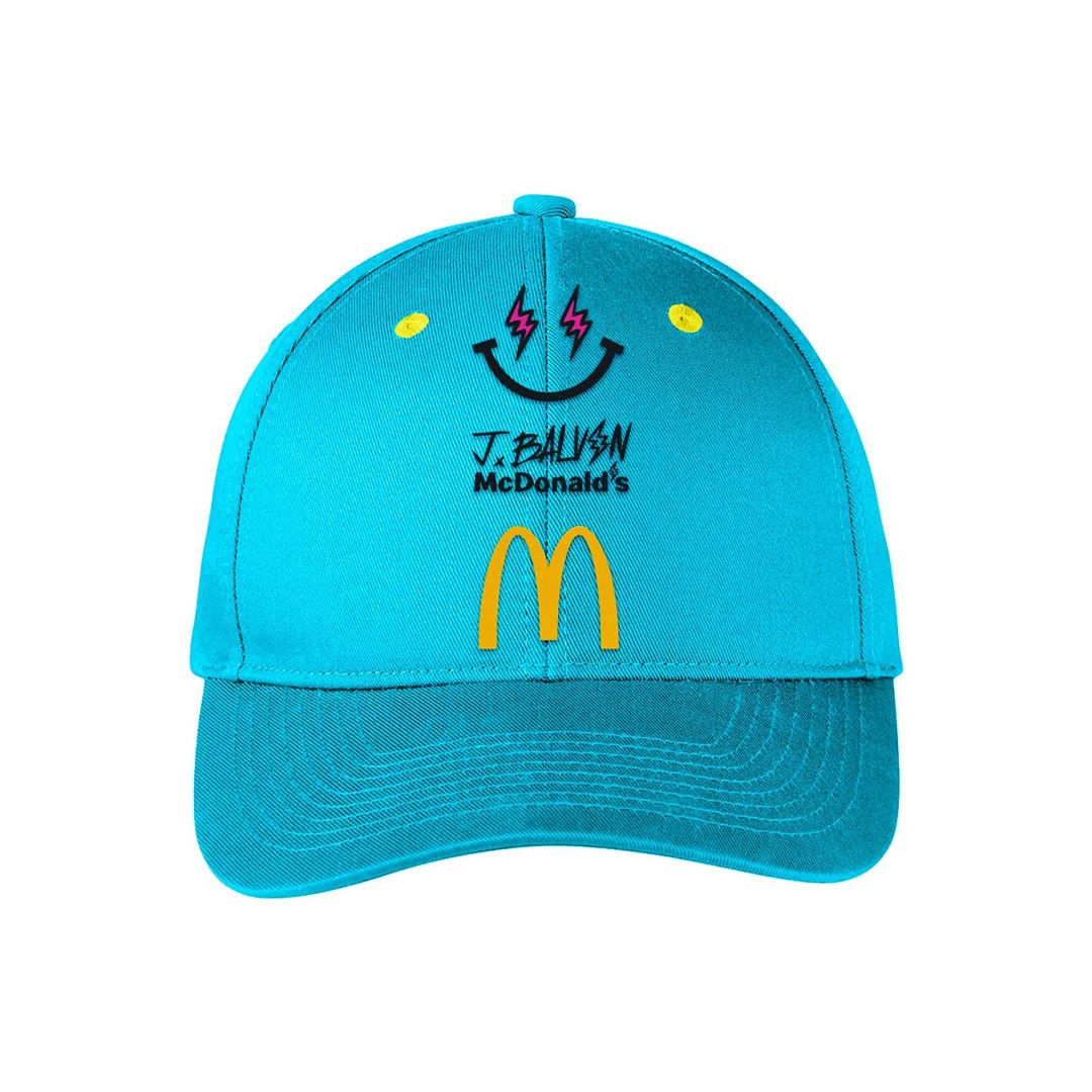 J Balvin x McDonalds hat