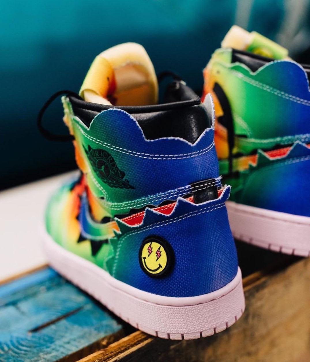 J Balvin x Air Jordan 1