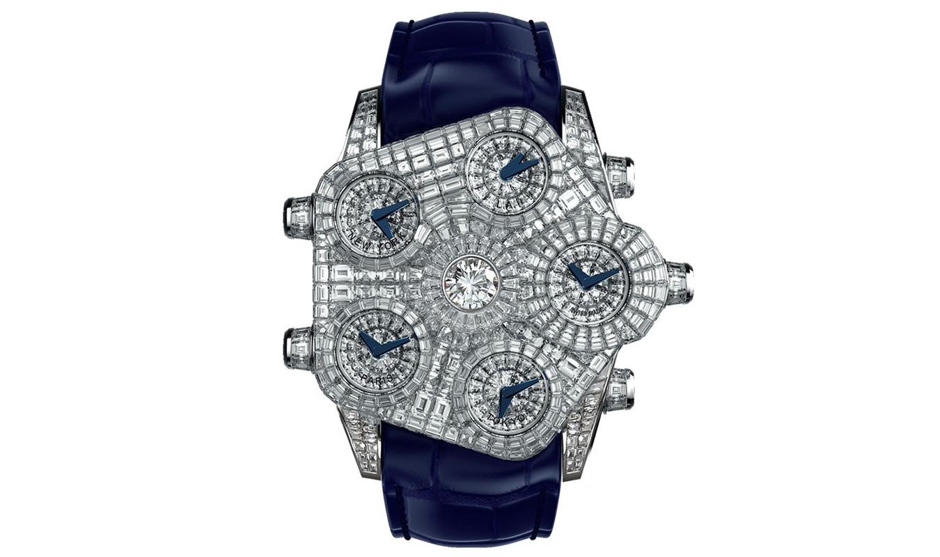 Jacob & Co. Grand Baguette Diamond Timepiece
