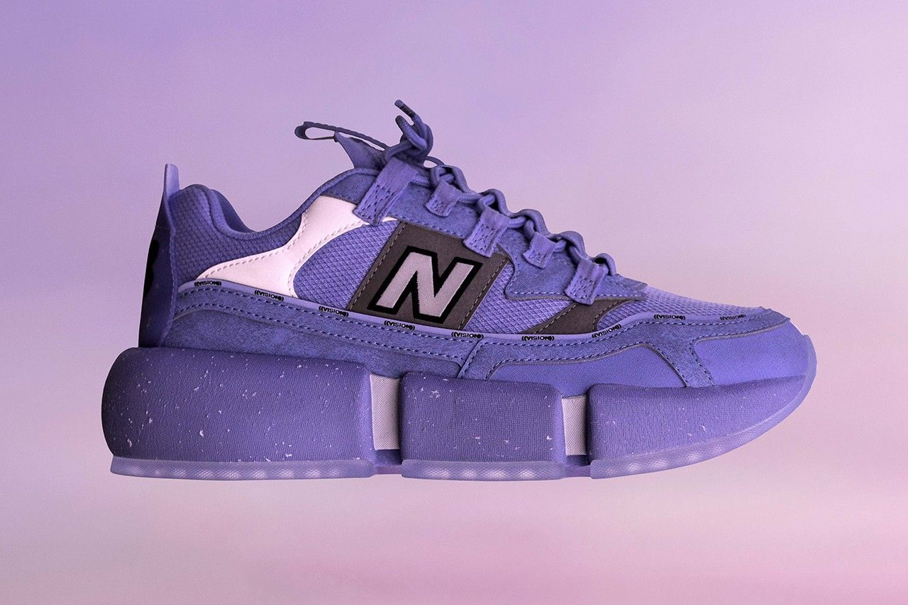 Jaden Smith x New Balance side suola chunky