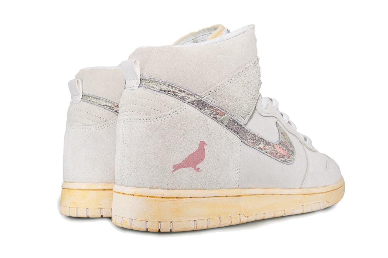"Jeff Staple x Nike Dunk High ""Pigeon Fury"""