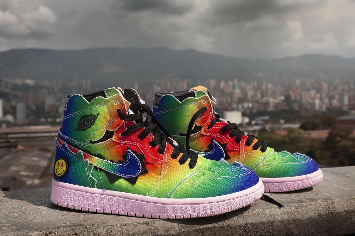 J Balvin x Air Jordan 1 High