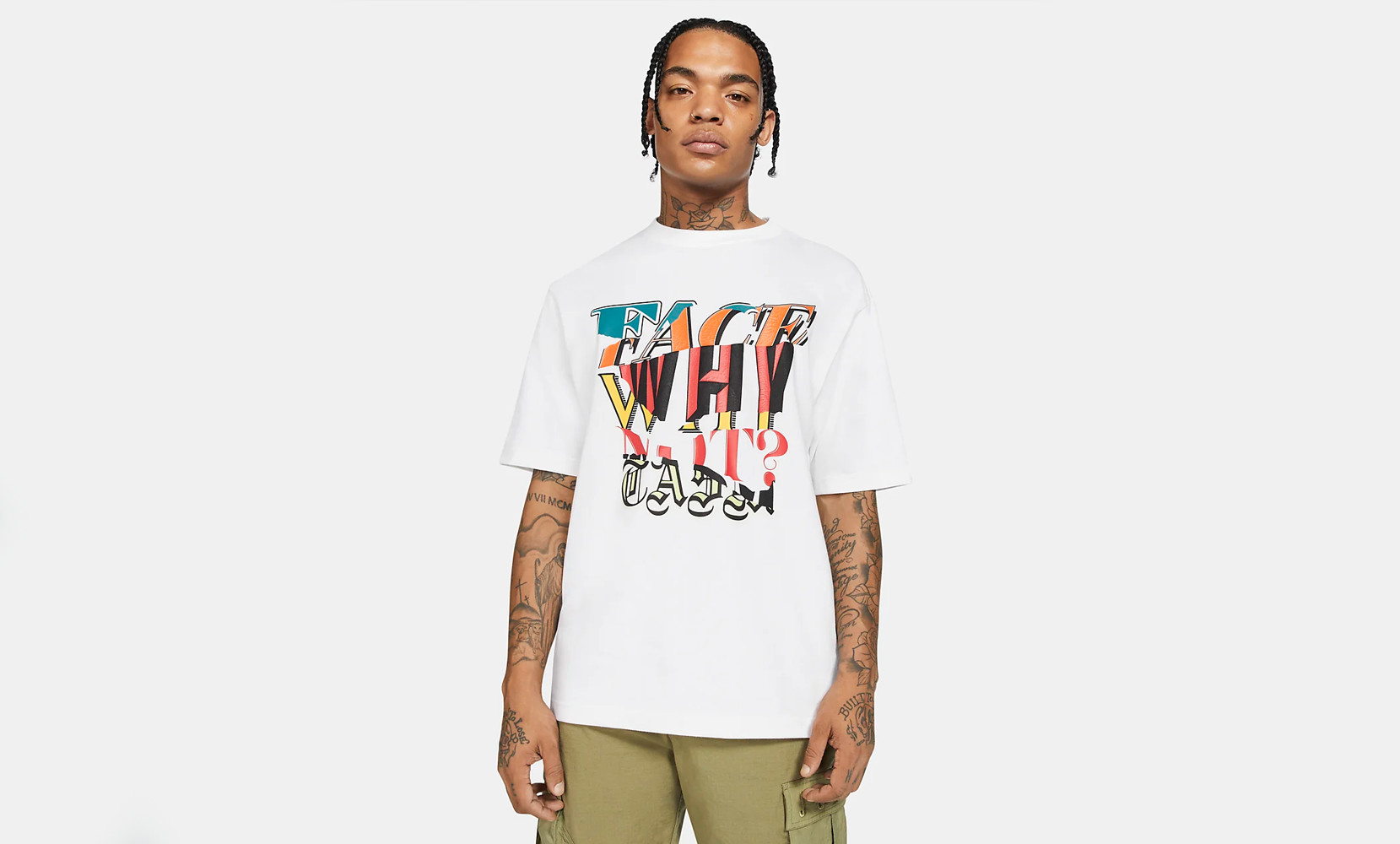 Jordan brand x WhyNot? x Facetasm