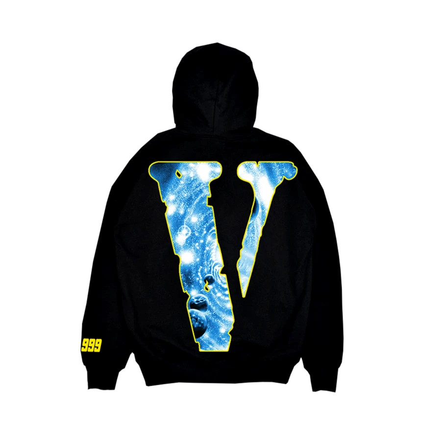 Juice WRLD x VLONE Hoodie con logo V