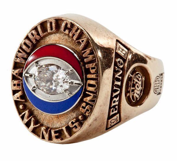 Julius Ervings ABA Championship Ring