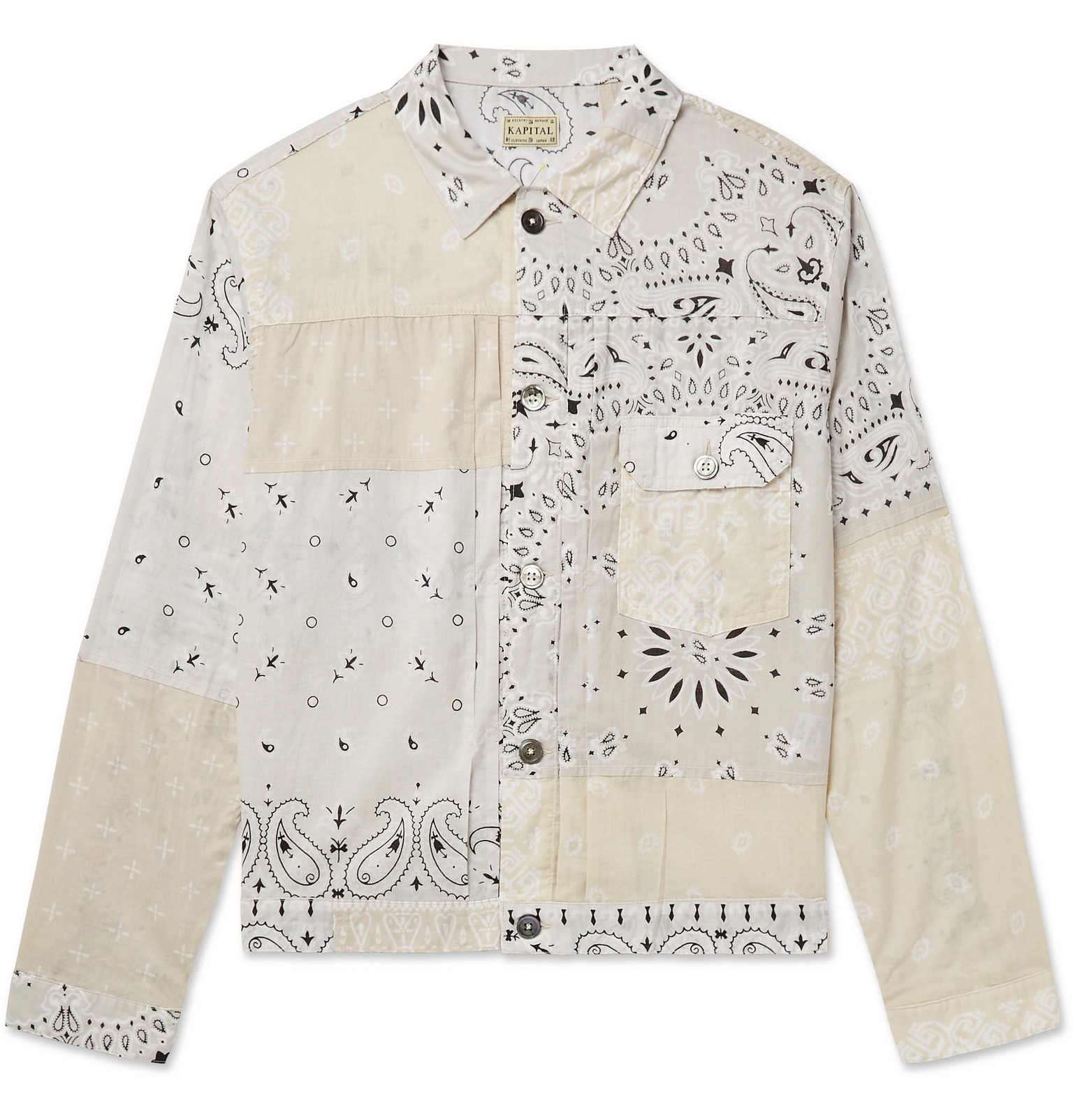 KAPITAL jacket paisley