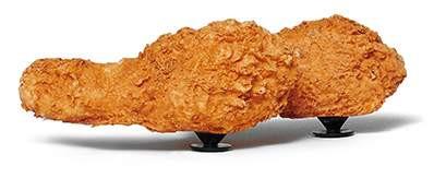 KFC x Crocs Clog stampa pollo fritto charms