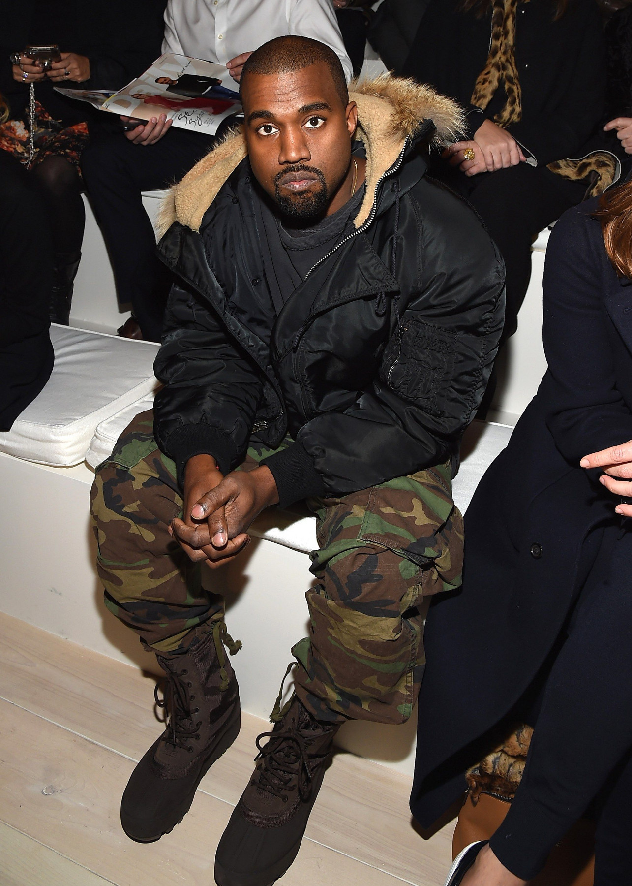 Kanye West camo pant