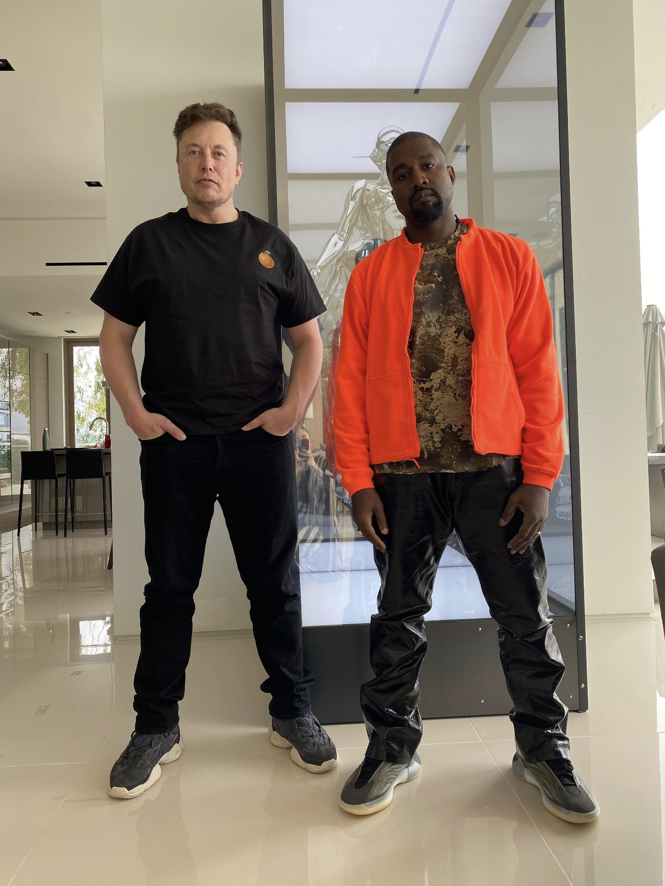 Kanye West e Elon Musk
