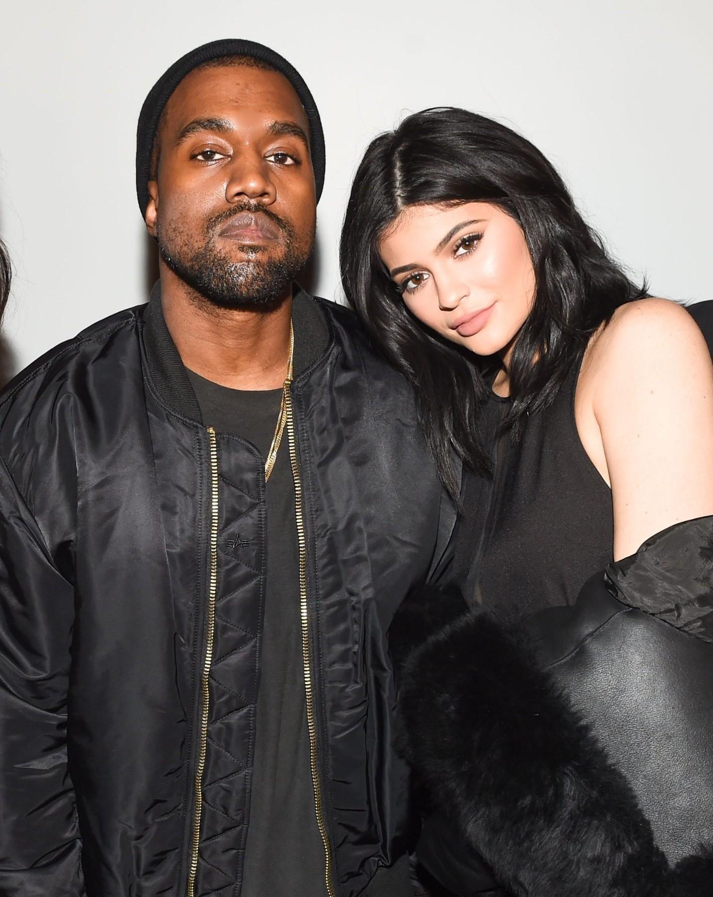 Kanye West Kylie Jenner