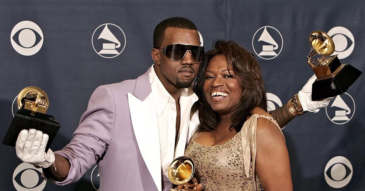 Kanye West insieme alla mamma Donda
