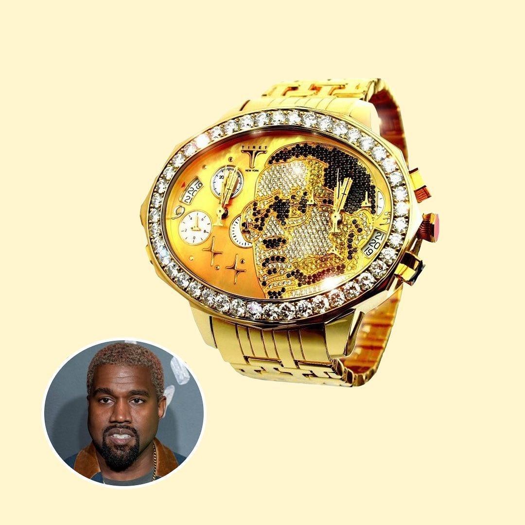 Kanye West - ONE OF A KIND GOLD TIRET
