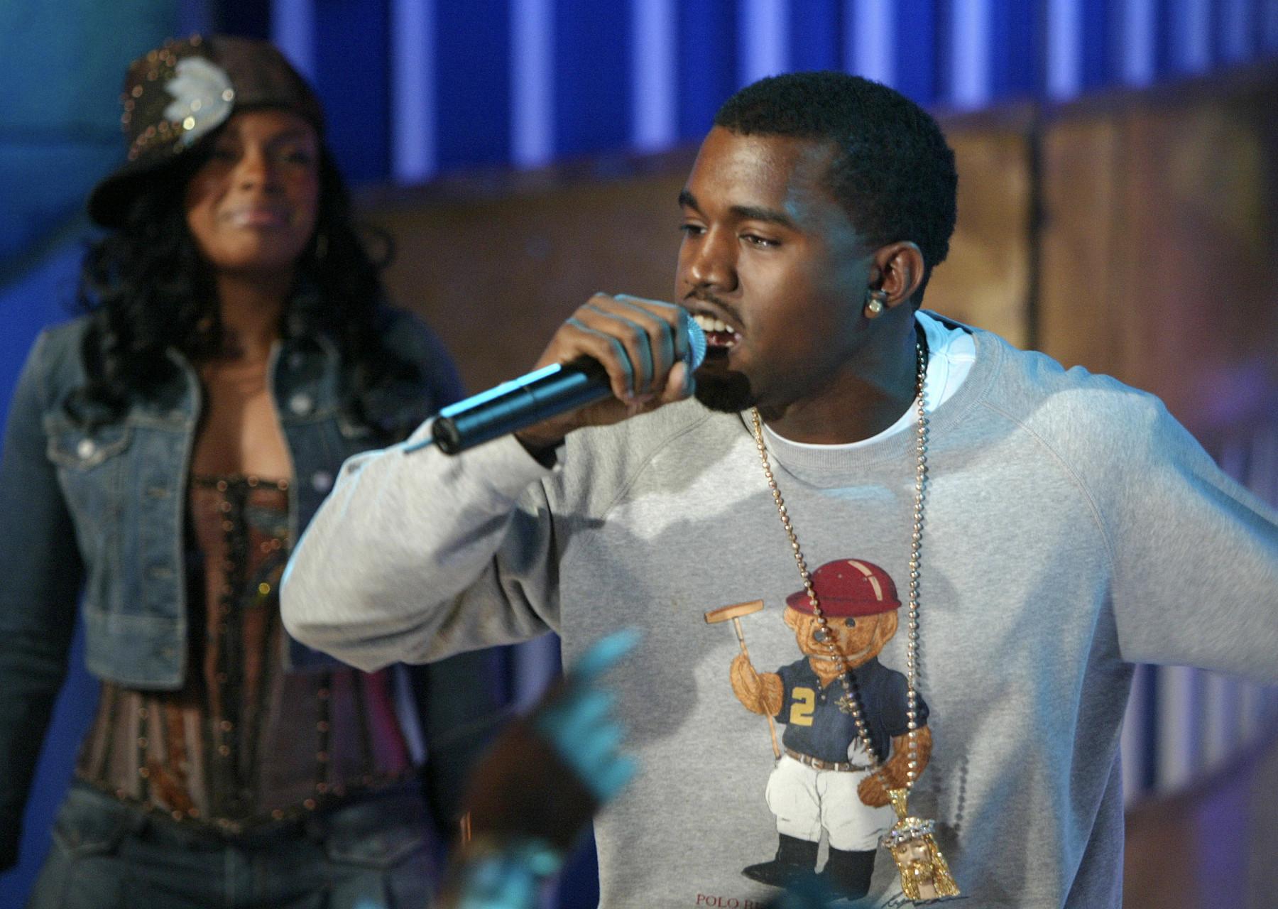 Kanye West Ralph Lauren Polo bear