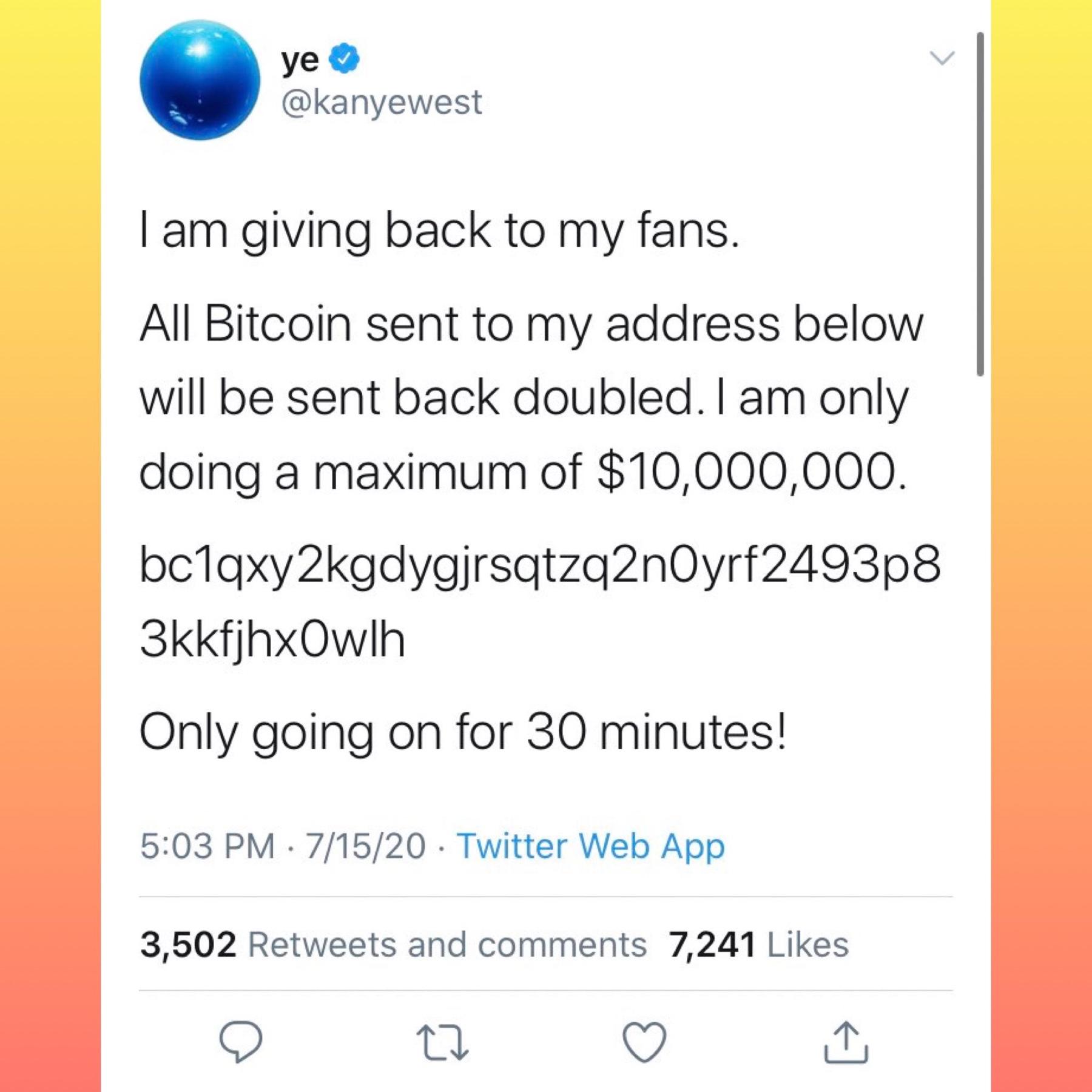 Tweet Kanye West Hacker