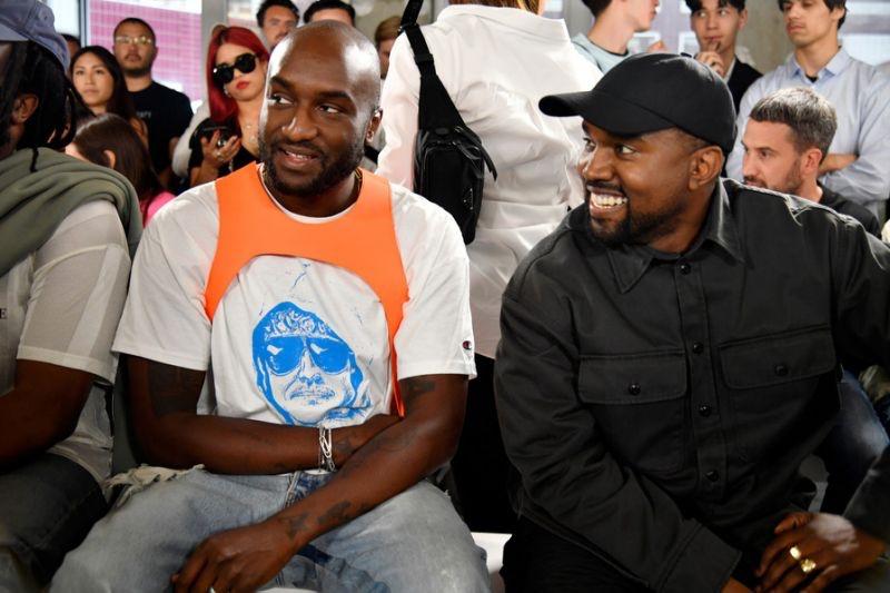 Kanye West insieme a Virgil Abloh