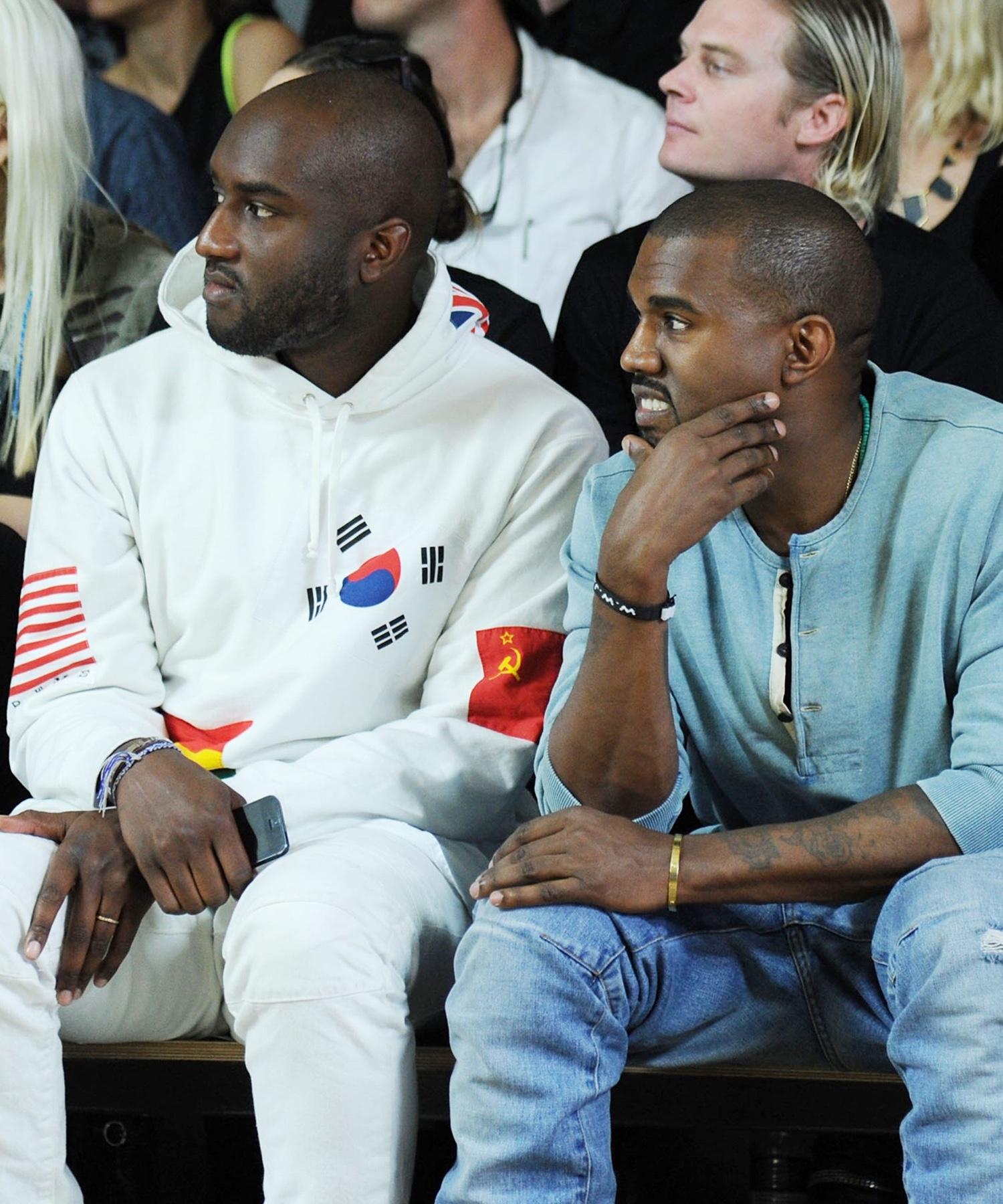 Kanye West Virgil Abloh runway show