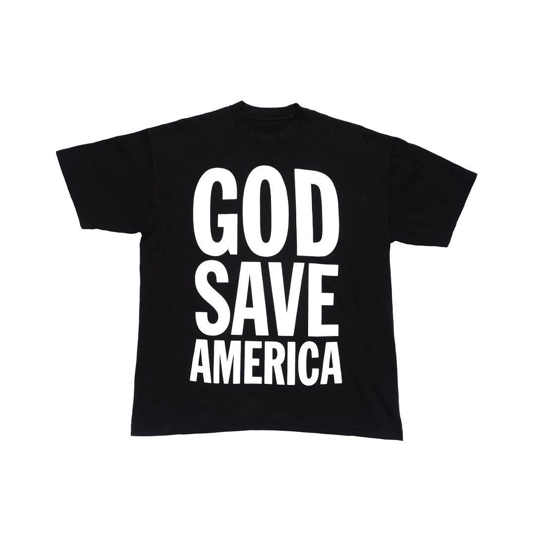 Kanye West merchandising Vision 2020 T-shirt