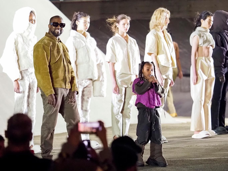 Kanye West Sfilata