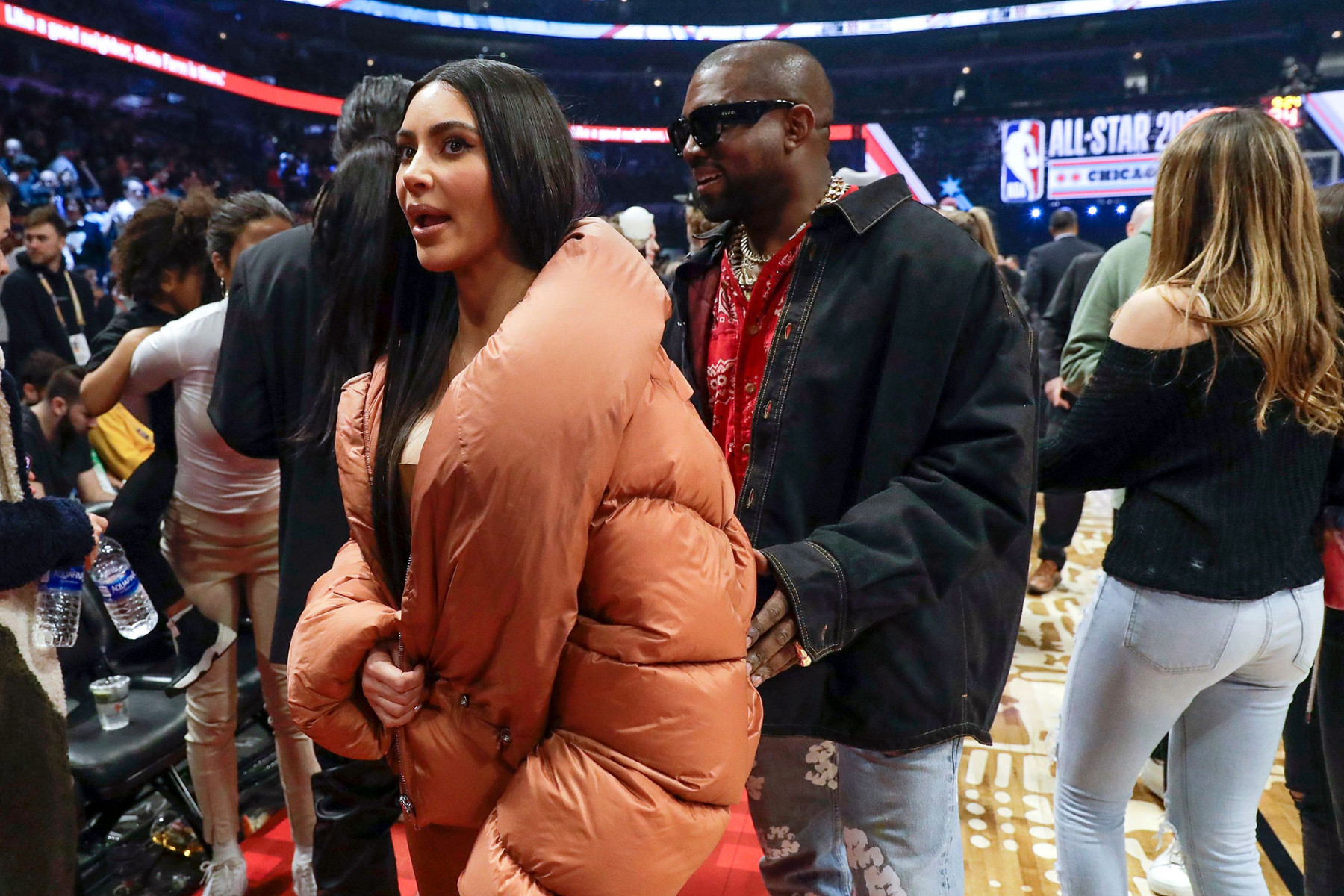 Kim-Kardashian-Kanye-West-NBA-All-Star-Game